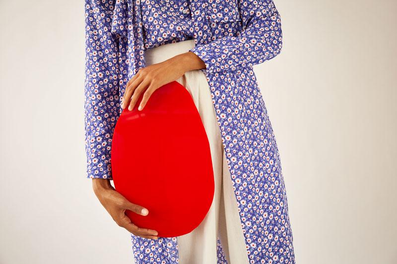 Kimono margaritas azules
